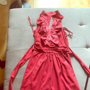 Rose colored bcbg dress